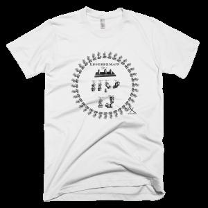 American Apparel Fine Jersey Short Sleeve T-Shirt LEGERDEMAIN