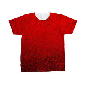 American Apparel Notes T-Shirt Sublimation T-Shirt NOTES
