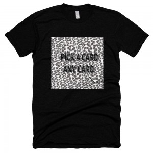 American Apparel Pique a Card Unisex Poly-Cotton Short Sleeve Crew Neck Pique a Card !