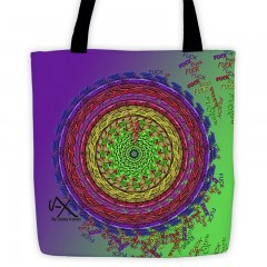 All-Over Fck Tote