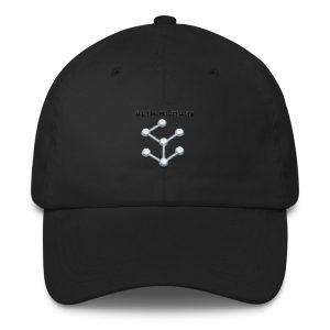 Classic Dad Cap – Blockchain logo by Jax