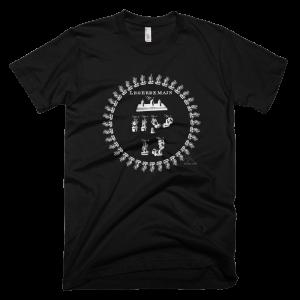 American Apparel LEGERDEMAIN Verso Fine Jersey Short Sleeve Men T-Shirt