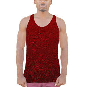 American Apparel Notes Sublimation Tank