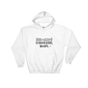 Hooded Sweatshirt – GOLEFT 3D